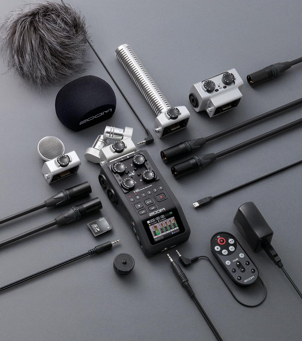 zoom h6 audio recorder lapham sales rentals inc equipment for the imagemaker. Black Bedroom Furniture Sets. Home Design Ideas