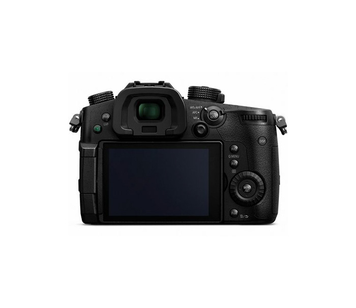 Image of the back of the Panasonic Lumix GH5 4K Mirrorless ILC Camera