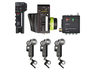 Image of the Preston FI+Z3 G4 MDR-3 Kit with Digital Microforce 2, Focus hand unit, MDR 3 and three DM1X motors
