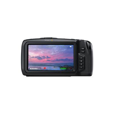 picture of blackmagic pocket cinema camera 4k back